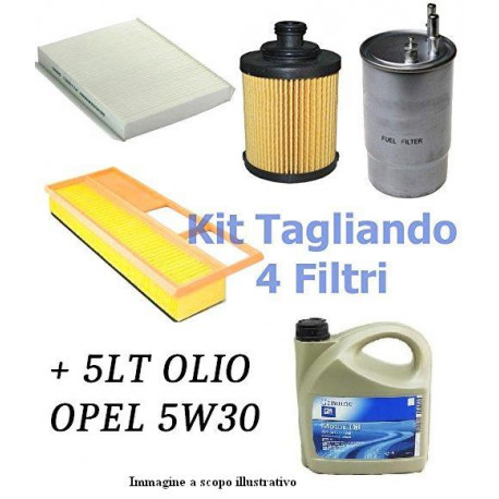 Kit tagliando suzuki swift