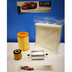 KIT 4 FILTRI SMART FORTWO 600 - 700 CC