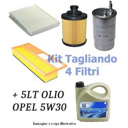 TAGLIANDO COMPLETO OPEL ASTRA 1.7 CDTI 81-92KW
