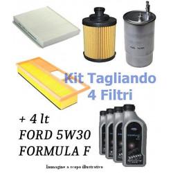 TAGLIANDO COMPLETO FORD FUSION 1.4 HDI